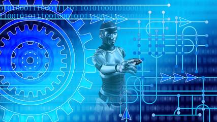 Intelligente Produktion in der digitalen Fabrik 4.0