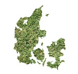 Denmark environmental map