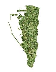 Girbraltar environmental map