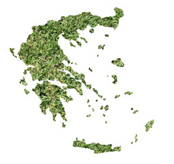 Bosnia and Herzegovina environmental map