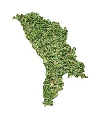 Moldova environmental map