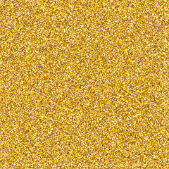 Vector golden glitter texture. Shiny golden decorative glam luxury abstract background.