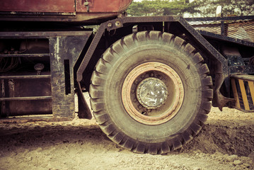 vintage of Truck equipment.