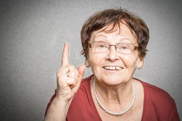 Rentnerin hat eine Idee