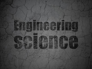 Science concept: Engineering Science on grunge wall background