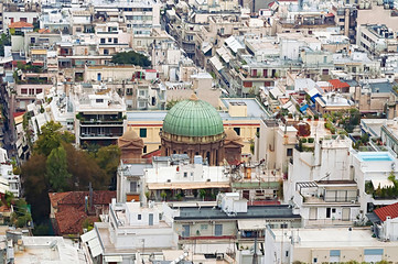 Church of Agios Dionisios Areopagitish in Athens, Greece