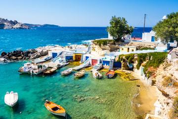 Greece, Milos, Mandrakia