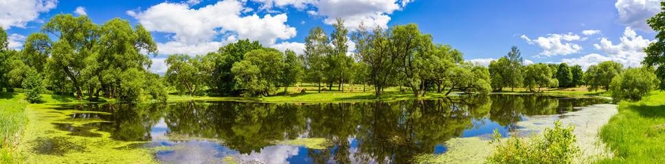 Beautiful summer landscape, Belarus