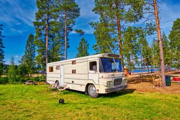 Big Old American RV / Camping Car