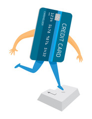 Credit card jumping on enter key or buying online