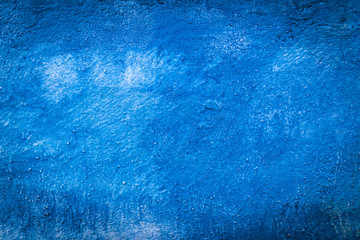 Blue Abstract Wall Background