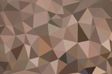 brown polygon pattern for background or web banner design.