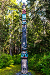 Alaska Native Totem Pole