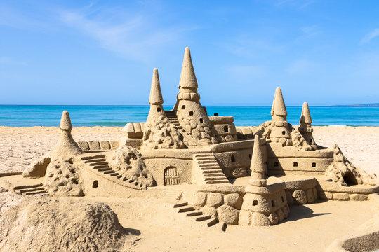 Traumschoss am Strand von Mallorca