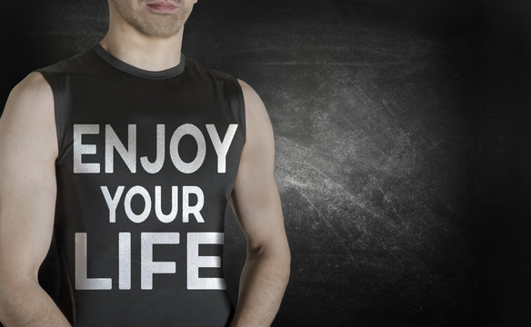 Enjoy your life. Conceptual image of healthy life.