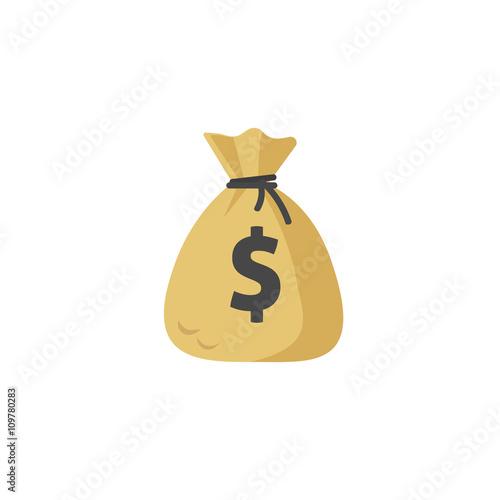 money bag vector icon moneybag flat simple cartoon illustration rh fotolia com money bag vector icon money bag vector art