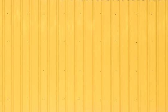 yellow steel  wall