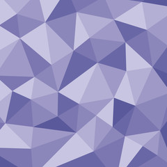 Polygonal abstract background - vector pattern in violet color.