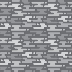 Abstract geometric background in gray - seamless vector pattern in flat style design. Abstract seamless pattern. Geometric seamless pattern. Flat design background seamless pattern. Flat style design.
