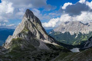 Zugspitze und Sonnenspitze Wall mural