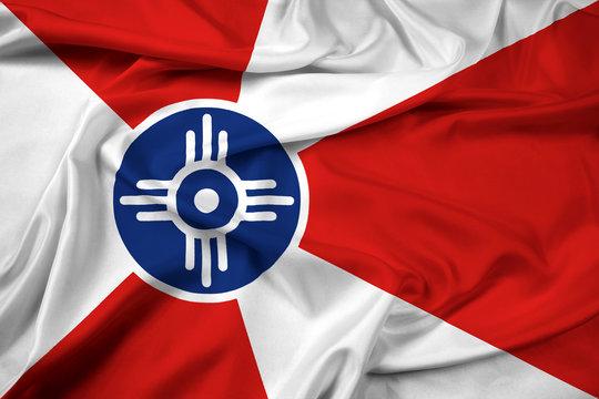 Waving Flag of Wichita, Kansas