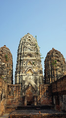 temple in sukhothai national park
