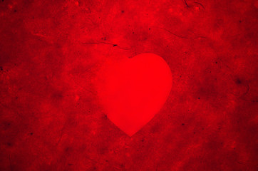 red hearts backgrounds of Valentine's day. Love texture