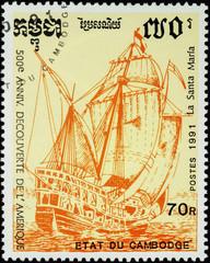 Flagship Santa Maria, 1st expedition of Christopher Columbus (14