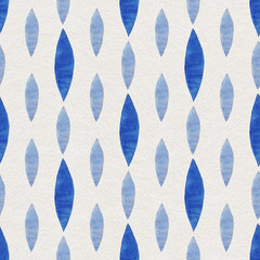 Watercolor Retro seamless pattern