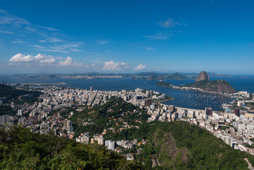 Wall Mural - Rio de Janeiro Skyline with Sugarloaf Mountain