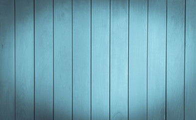 Vintage blue tone timber wall texture background