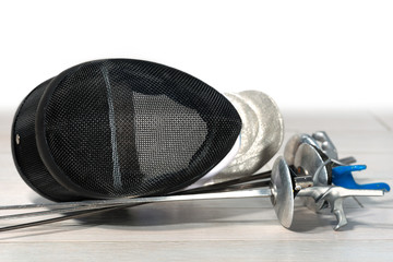 Fencing Foil Equipment - Selective Focus