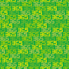 365 background. Seamless pattern.Vector.365のパターン