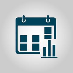 calendar stats icon, calendar stats symbol, calendar stats vector, calendar stats eps, calendar stats image, calendar stats logo, calendar stats flat, calendar stats art design, calendar stats grey