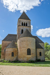 église de Saint Léon sur Vézère dans le périgord noir