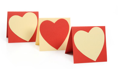 Holiday Card. Heart for Valentines day.