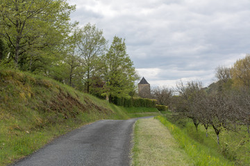 promenade à Auriac en périgord