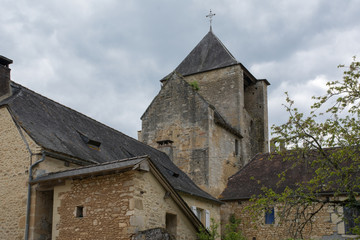 église de Auriac en Périgord
