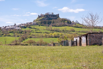 campagne et village de Séverac le château