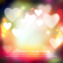 Valentine's day romantic background