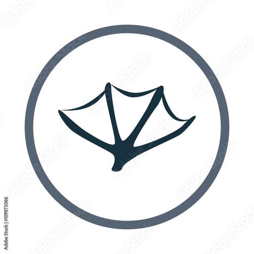 platypus paw print icon