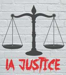 Art urbain, Balance de la justice