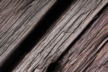 Old cracked wooden texture