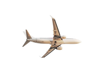 Airplane isolated, Clipping path