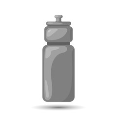 Sports bottle colorful icon