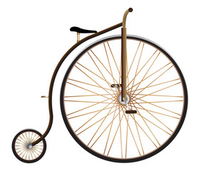 Realistic Penny Farthing