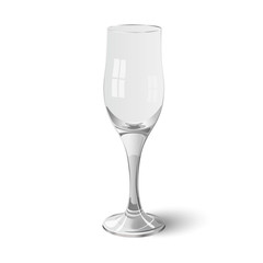 Wineglass isolated on white background