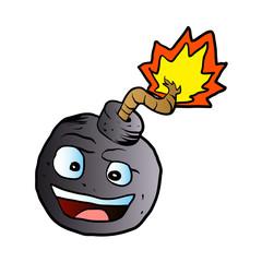 bomb explosive character mascot