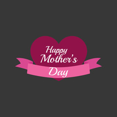 Happy mothers design. white background. celebration concept