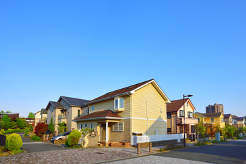Japan's residential area